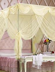 Plancher de palais moustiquaires en acier inoxydable installation de support de style princesse