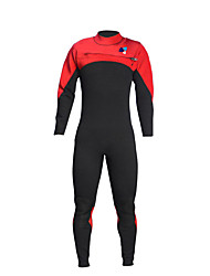 Unisex 3mm Full Wetsuit Waterproof Insulated Nylon LYCRA® Terylene Diving Suit Long Sleeve Diving Suits-Swimming DivingSpring Summer