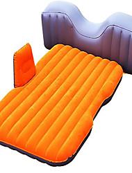 Carro cama de ar colchão duplo (150 * 80 * 45cm) pvc flocking segurança fender com bomba de ar
