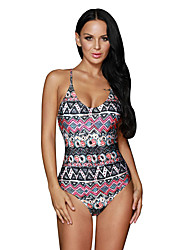 Women's Boho Stylish Gypsy Print One-Piece Bathing Suit