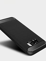 Pour Antichoc Coque Coque Arrière Coque Couleur Pleine Flexible PUT pour Samsung S8 S8 Plus S7 edge S7 S6 edge S6