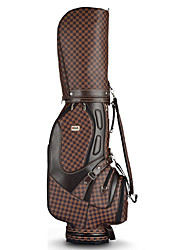 Golf Bag British Style For Men Tees Golf Sets For Golf Durable Wateproof PU