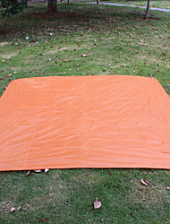 Moistureproof/Moisture Permeability Camping Pad Sleeping Pad Orange Hiking Camping Traveling