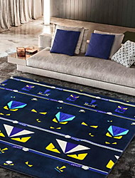 Blue Monster Modern Polyester Area Rugs(150*195cm)