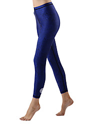 Women's Wetsuit Skin Ultraviolet Resistant Terylene Tactel LYCRA® Diving Suit Bottoms-Beach Spring Summer Fall/Autumn WinterFashion Solid