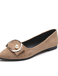 Women's Loafers & Slip-Ons Spring Summer Fall Comfort Leatherette Office & Career Dress Flat Heel