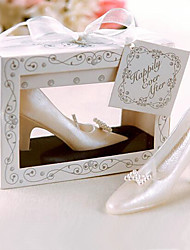 1 Pcs Bride High-heeled Shoe Candle Wedding Favor Party Valentine's Gift