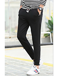 Men's sports pants casual pants long pants spring loose cotton trousers straight pants Guardian