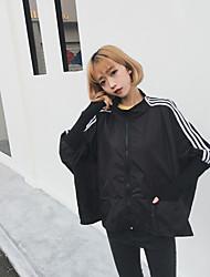 BF wind loose spring new wild bat sleeve baseball uniform Korean long-sleeved jacket Sign