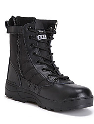 Avançado intermediário outdoor wearproof / amortecimento borracha high-top lace-up botas unissex