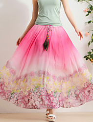 Really making 2016 spring and summer chiffon skirt bust skirt fairy skirt big skirt beach dress