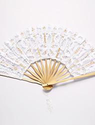 """Dentelle Ventilateurs et parasols Pièce / Set Eventail Thème floral Thème classique Rubans11""""H,19 1/2"""" de diamètre (hauteur 28cm, 50cm de"""