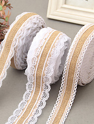 Jute Wedding Ribbons Piece/Set Weaving Ribbon