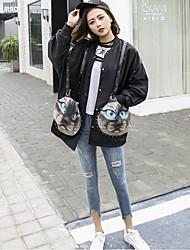 Japanese women new spring 2017 Korean loose coat female student Harajuku bf wild wind jacket Spring Tide