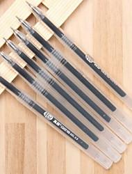 Gel Pen Pen Gel Pens Pen,Plastic Barrel Black Ink Colors For School Supplies Office Supplies Pack of