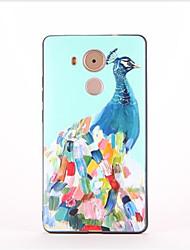 Pour Motif Coque Coque Arrière Coque Animal Flexible PUT pour Huawei Huawei Mate 9 Huawei Mate 8