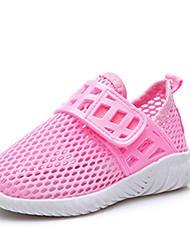 Girls' Loafers & Slip-Ons Summer Fall Light Soles Tulle Outdoor Casual Flat Heel Running