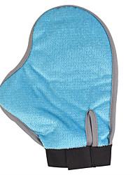 Perro Pincel Cardas Mascotas Útiles de Aseo Impermeable Azul
