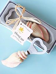 Beach Party Seashell Bottle Opener Favor 14.2*5.7*3.8cm/box Beter Gifts® Wedding Door Gifts