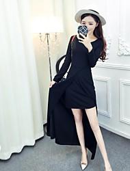 Sign Princess 2016 women new Slim was thin before long and short tuxedo dress