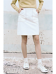 2017 spring new College Wind A word skirt 2.27 shipping