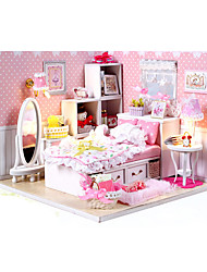 DIY KIT Dollhouse Model & Building Toy House