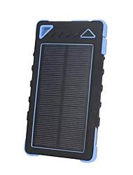 8000mAhmAhbanco do poder de bateria externa Recarga com Energia Solar Lanterna 8000mAh 1000mA Recarga com Energia Solar Lanterna