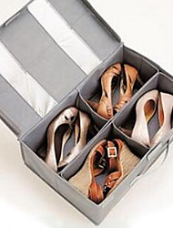 Storage Boxes Storage Units Shoe Bags Non-woven withFeature is Lidded , For Shoes