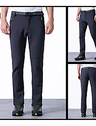 Men's Pants/Trousers/Overtrousers Fishing Thermal / Warm Fall/Autumn Winter Gray Black Army Green-Sports