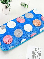 Casual Polyester Area Rugs(Random Color)(40*60cm)