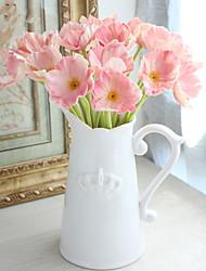 1 Ramo Plástico Outras Flor de Mesa Flores artificiais 33*7