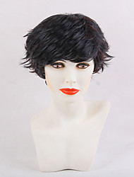 New Style Natural Black  Short Hair  Synthetic Wig