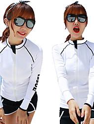 HISEA® Unisex Neopren top Voděodolný Zahřívací Nositelný Odolné vůči šokům Hladký LYCRA® Diving Suit Dlouhé rukávy Vrchní část oděvu-