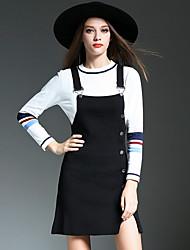 Real tiro 2016 hitz moda clinch strap vestido