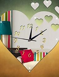 Formen Wand-Sticker 3D Wand Sticker Spiegel Wandsticker Dekorative Wand Sticker Uhren Sticker,Glas Stoff Haus Dekoration Wandtattoo