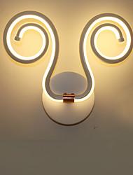 AC 100-240 24 LED Intégré Moderne/Contemporain Peintures Fonctionnalité for LED Ampoule incluse,Eclairage d'ambiance Appliques murales LED