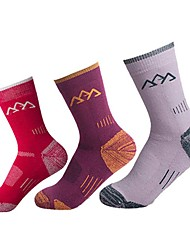 Women's Socks Camping / Hiking Exercise & Fitness Racing Running Breathable Thermal / Warm Low-friction Comfortable ThickM