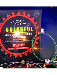 Professional String High Class Guitar Acoustic Guitar New Instrument Steel Musical Instrument Accessories Red Green Blue Silver