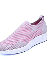 Da donna-Sneakers-Tempo libero Casual Sportivo-Comoda pattini delle coppie-Piatto-Tulle-