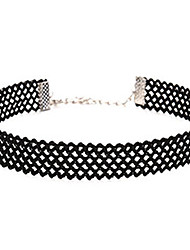 Women's Choker Necklaces Jewelry Lace Fabric Basic Unique Design Tattoo Style Jewelry ForWedding Halloween Anniversary Birthday Thank You