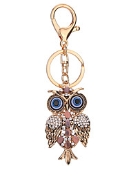 Key Chain Bird Key Chain Silver Gold Metal