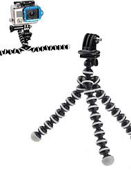 Universal Holder Flexible Octopus Tripod Bracket Selfie Stand with Adjustable holder Clip For GoPro Camera Smart Phone