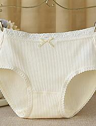 Women's Lace Solid Shaping PantiesCotton