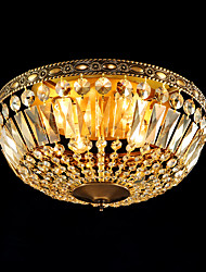 Full Copper Classic Crystal Ceiling Lamp C