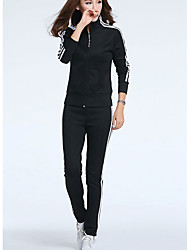 Good quality 2017 spring Slim Jogging track suit student uniforms uniforms work clothing female sportswear