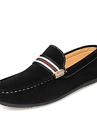 Men's Fashion Loafers Casual/Travel/Office & Career Fabric Tulle Breathable Walking Slip on Shoes
