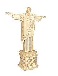 Jigsaw Puzzles DIY KIT 3D Cristo Redentor Logic & Puzzle Toys Building Blocks DIY Toys Famous buildings Chinese Architecture Toys