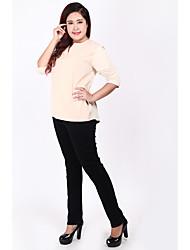 Zeichen Jeans weibliche Hose 2017 Frühjahr neue dünne dünne große Yards Fett mm schwarze Jeans Kind