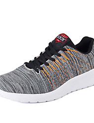 calçados esportivos Primavera Queda solas leves conforto tule ao ar livre atlético ocasional lace-up