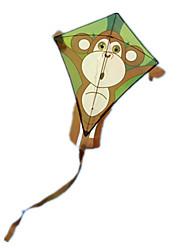 kites Circular Macaco Policarbonato Tecido Criativo Unisexo 5 a 7 Anos 8 a 13 Anos 14 Anos ou Mais